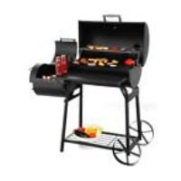 Oklahoma bbq smoker 16 indirecte barbecue op hout of kolen tweedehands  Olst